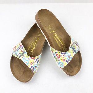 Birkenstock Papillio Floral Madrid Slide Sandals